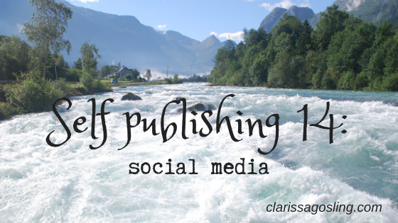 Self-publishing 14: social media