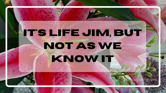 It's life Jim, but not as we know it