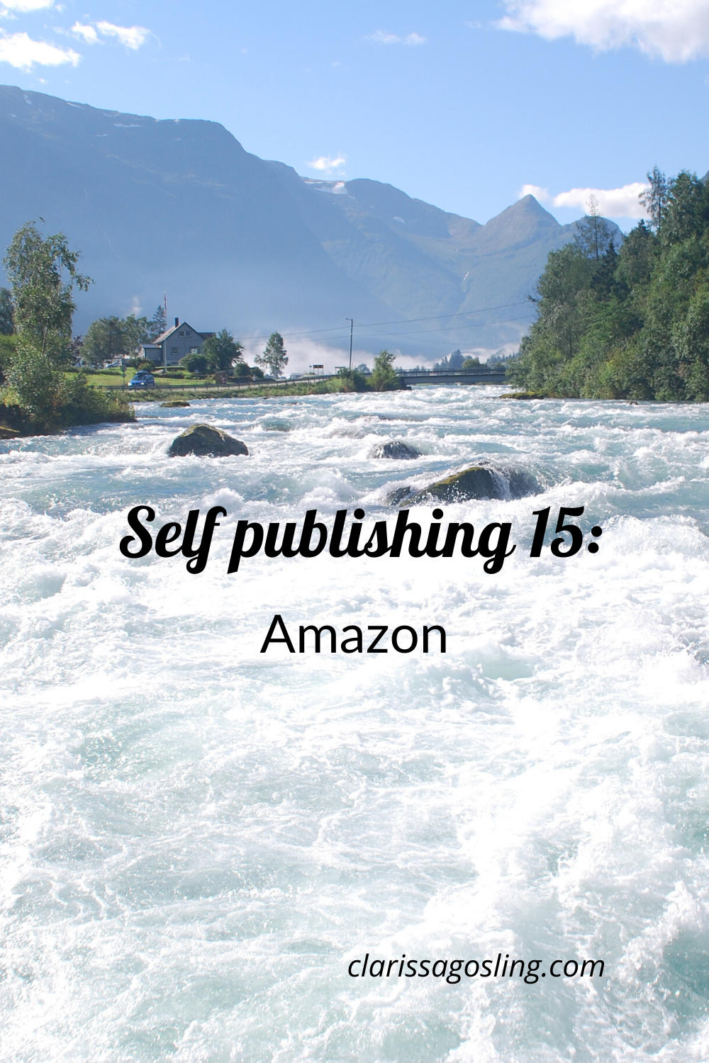 Self-publishing 15: Amazon