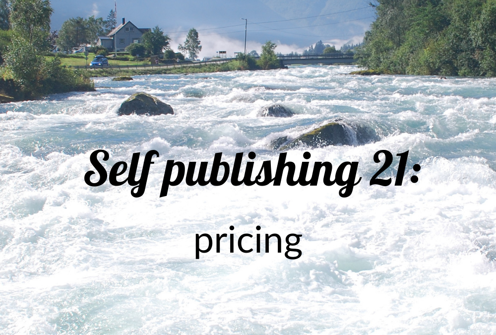 Self-publishing 21: pricing